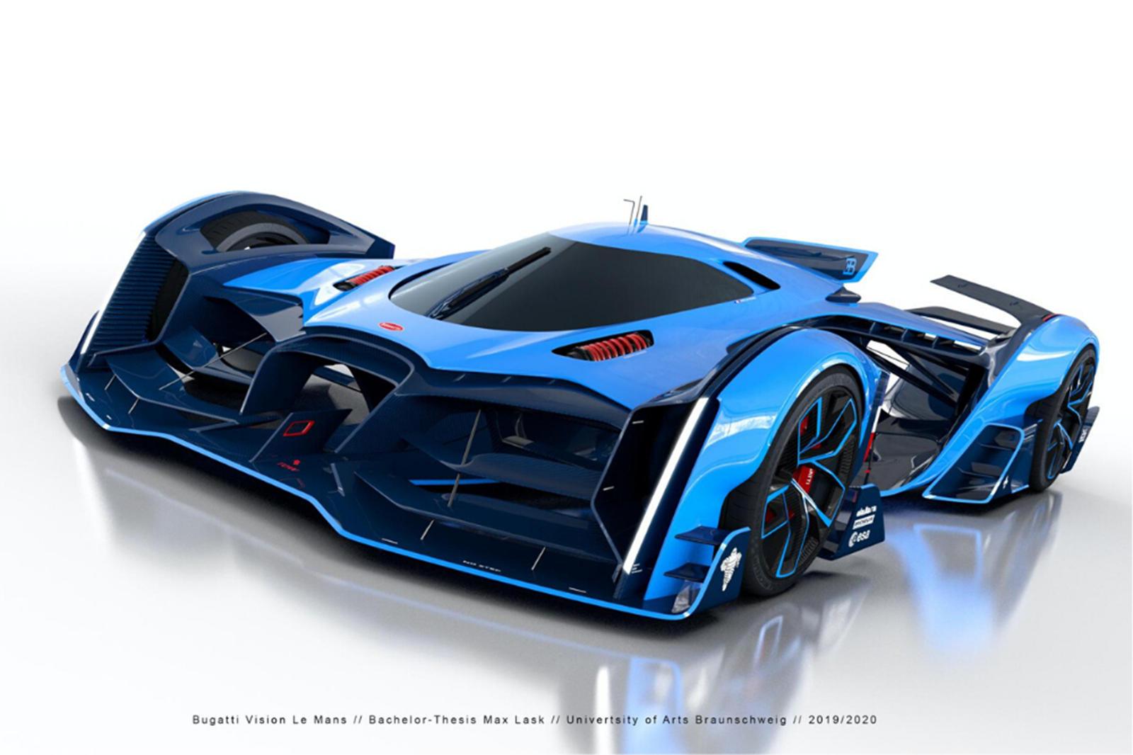 Automobile : Bugatti dévoile «la Bolide», son nouveau coupé de 1.850 chevaux